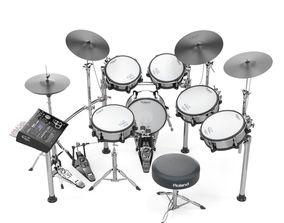 Roland TD30 electronic drums set instrument 3D model