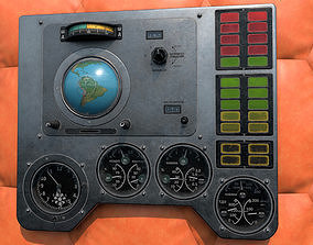 Vostok 1 Panel from Gagarin Flight 3D model