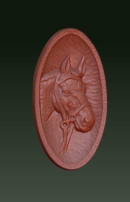 Horse Relief Plaque