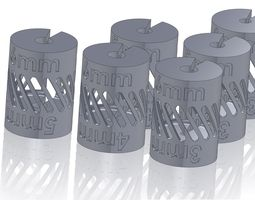 Shaft Coupling - Metric - Reducers 3D print model
