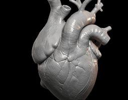 Heart Print 3D Model