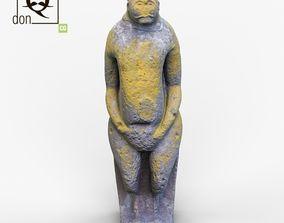 history 3D model Ancient statue