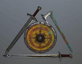 viking set 3D model