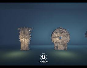 Rune Stone Pack UE4 3D asset