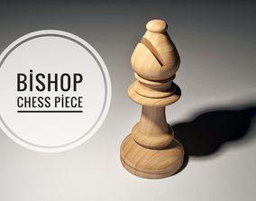 3D model Chess Bishop Piece