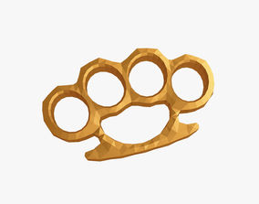 Brass knuckles 3D printable model