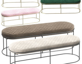 Calligaris Atollo bench 3D