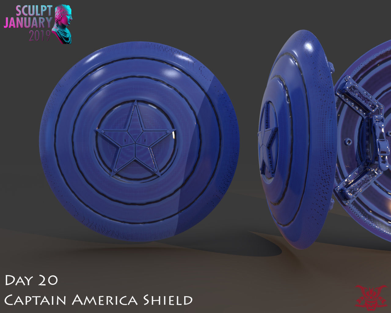 Captain America Shield 3 Versions