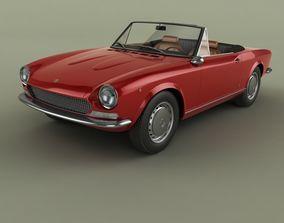 Fiat 124 Spider 1970 3D model