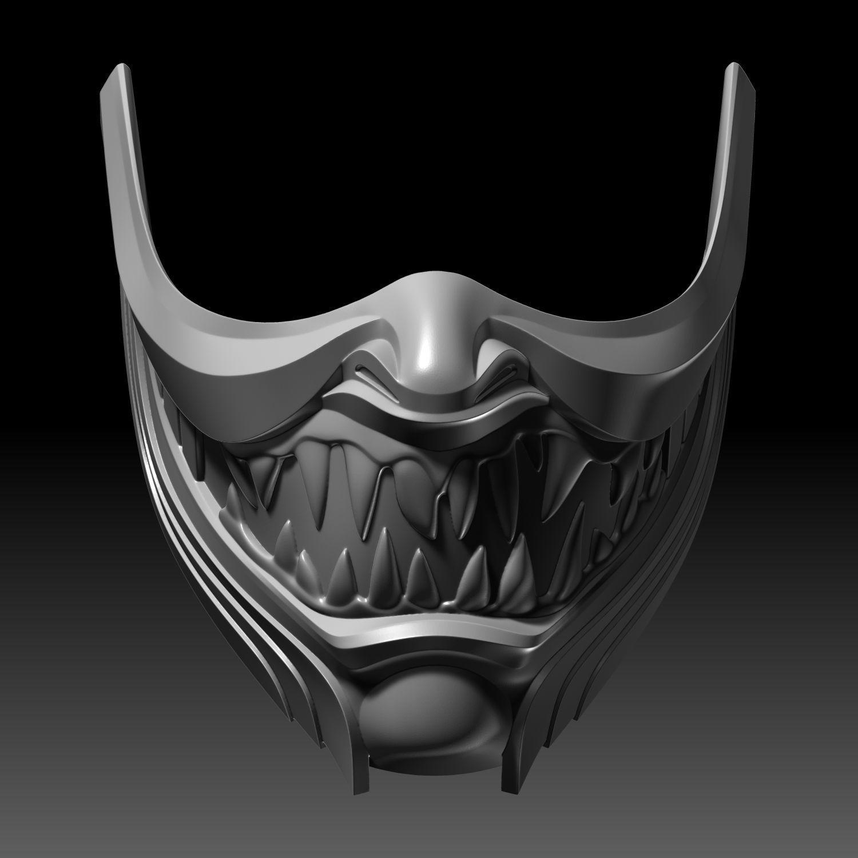 Scorpion Mask Hanzo Face Mortal Kombat 11 3d Printable