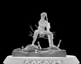 Kakashi Hatake character anime 3D printable model