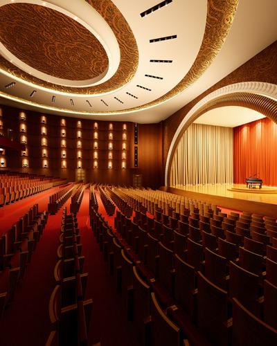 Theatre 3d model max for Theatre model