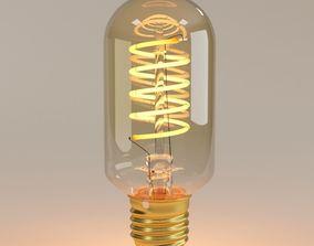 Decorative Edison Radio Bulb Spiral LED E24 3D