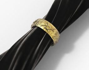 Ring Noise gold-ring 3D print model