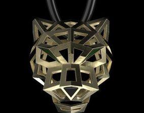 3D printable model pendant necklaces