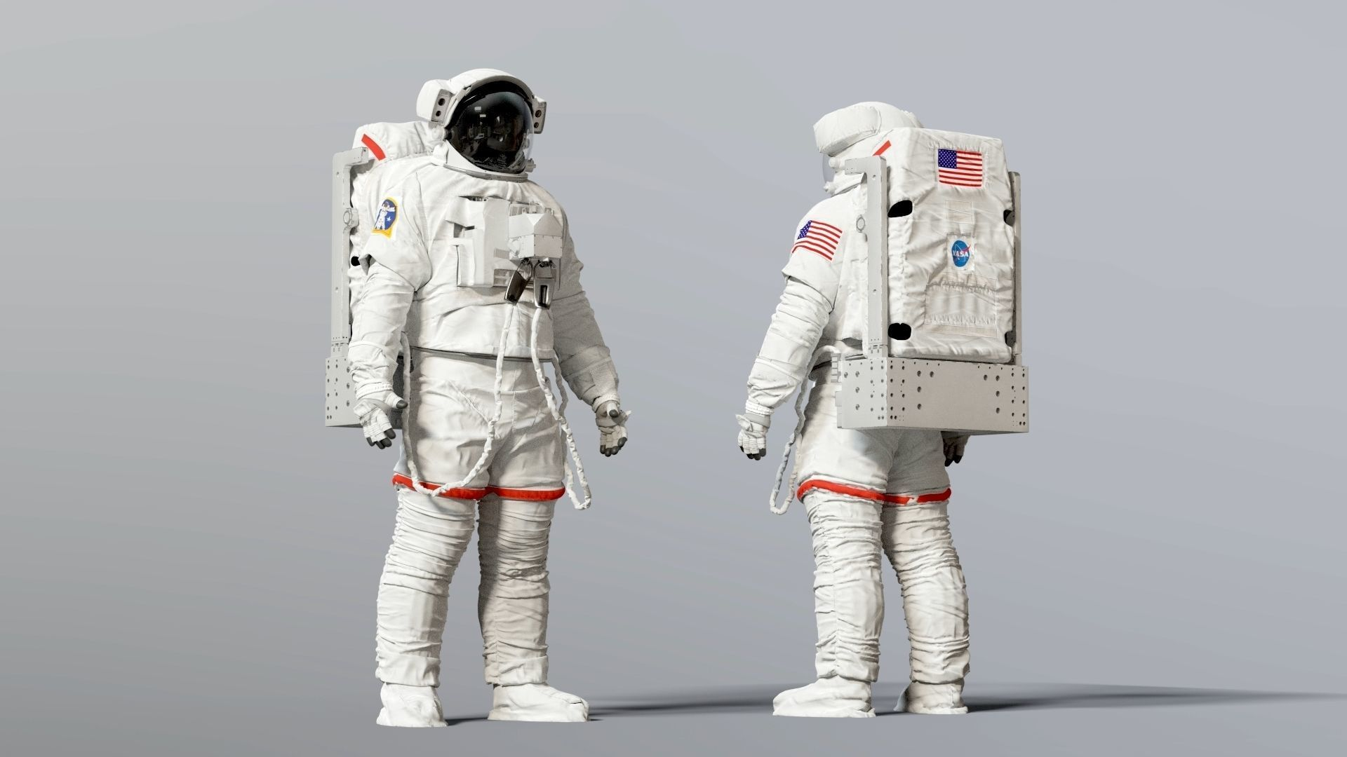 SPACESUIT NASA EMU SAFER