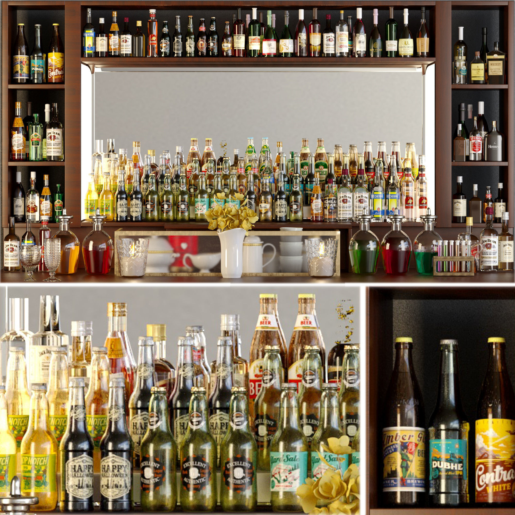 Big bar 5 Alcohol