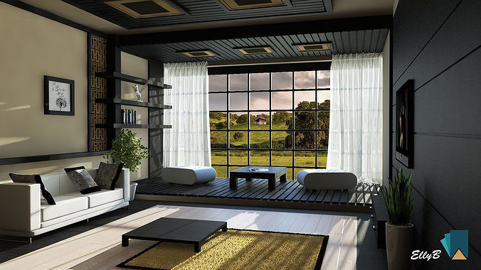 Anese Style Living Room Model Max Bip 1