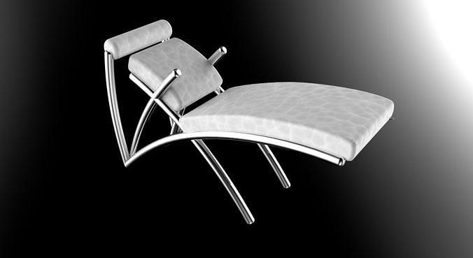 comfort chair 3d model obj mtl 1