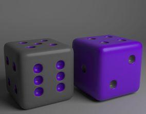 3D High-Poly Dice