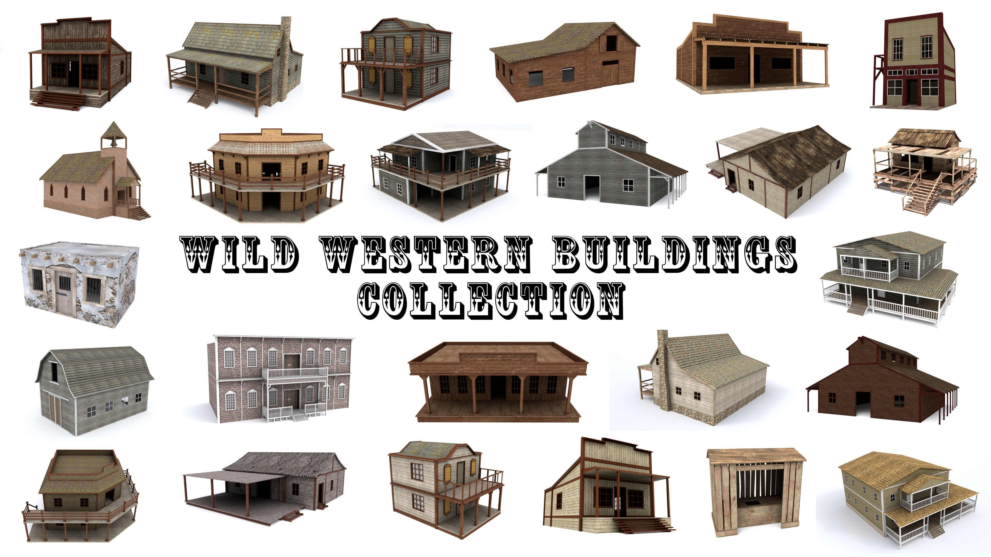 Western Buildings Collection