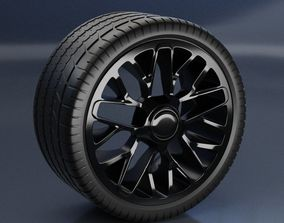 Rim with Tyre 3D
