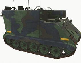 3D asset low-poly M113 Carrier