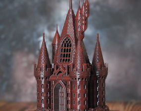 3D printable model THE FIVE TOWER HALL