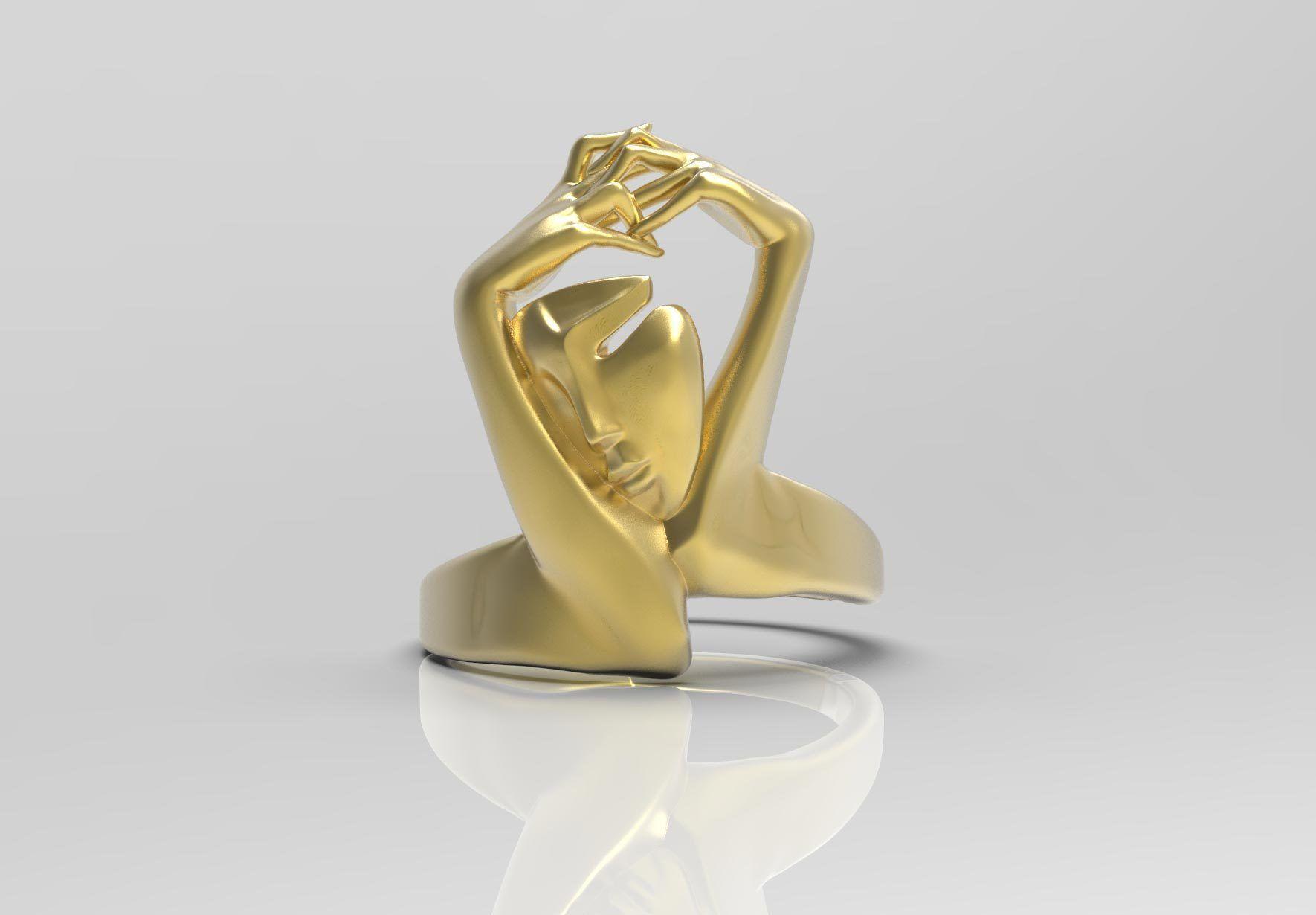 Elegant womens ring