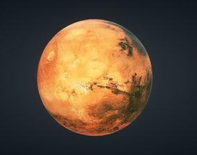 Mars Planet 3D asset