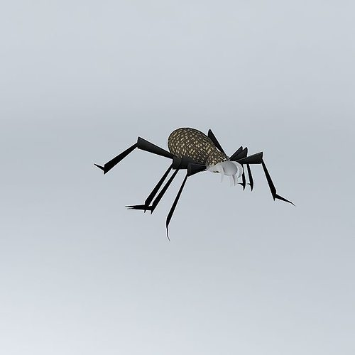 Toane spider by fr d ric tabary 3d model max obj 3ds fbx stl dae - Frederic tabary ...