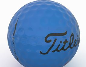 3D model Gilf Ball Blue
