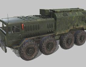 3D asset MAZ 537