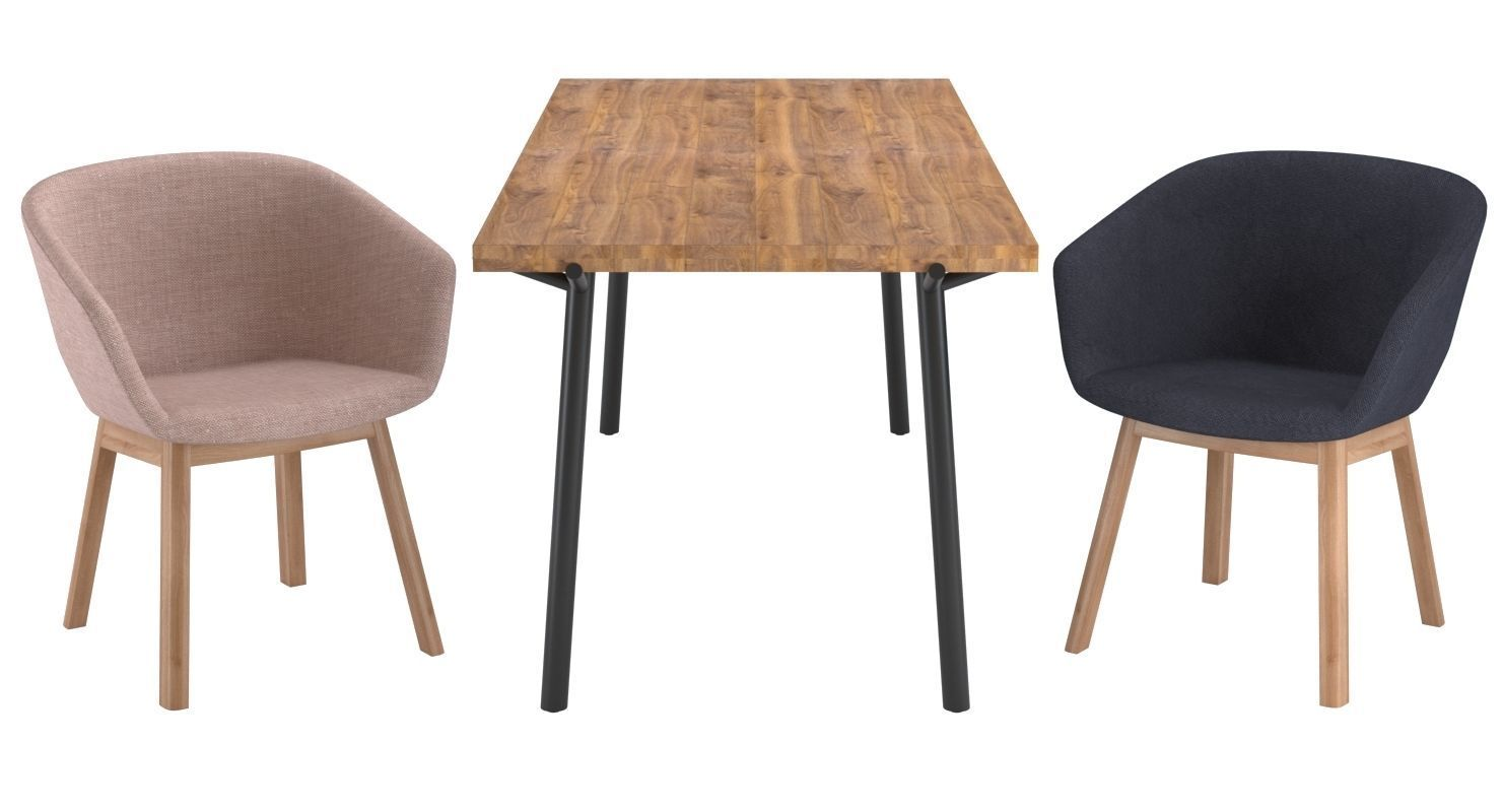 Blu Dot Host Dining Chair And Branch Table Model