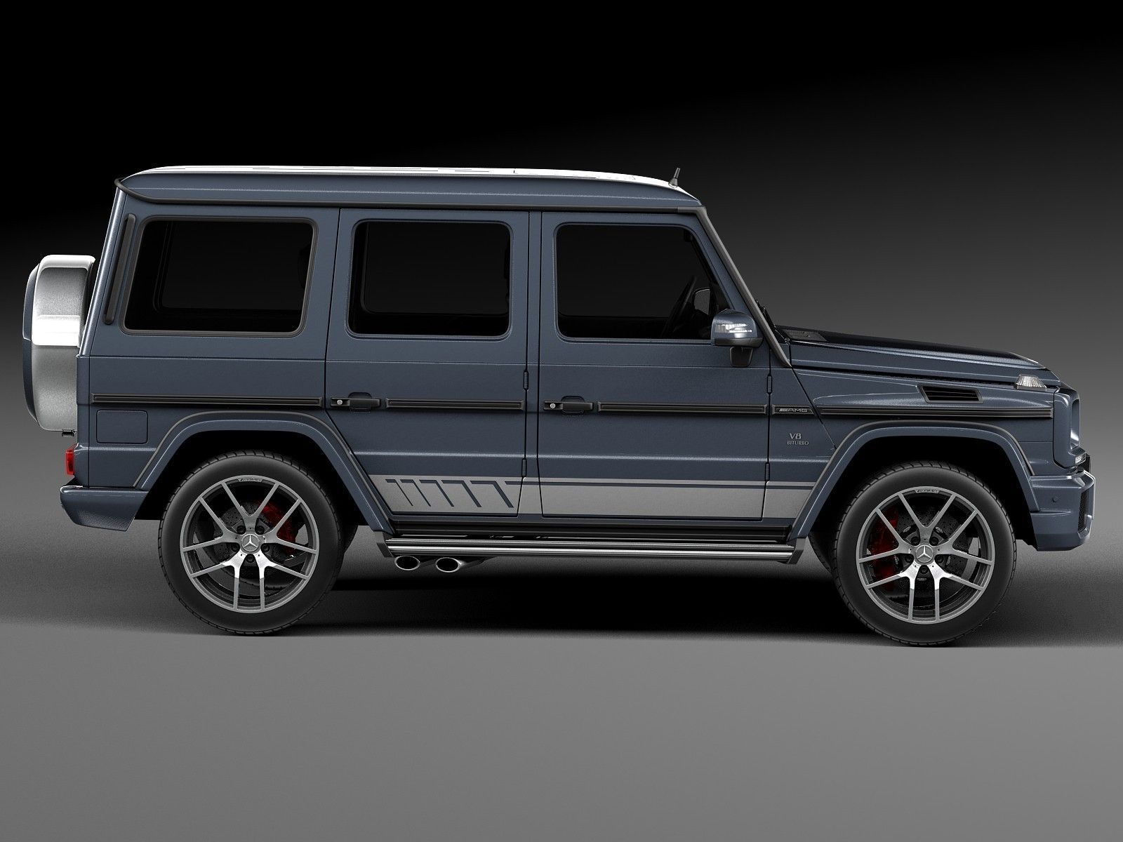 Mercedes Benz G63 Amg 2016 3d Model Max Obj 3ds Fbx C4d