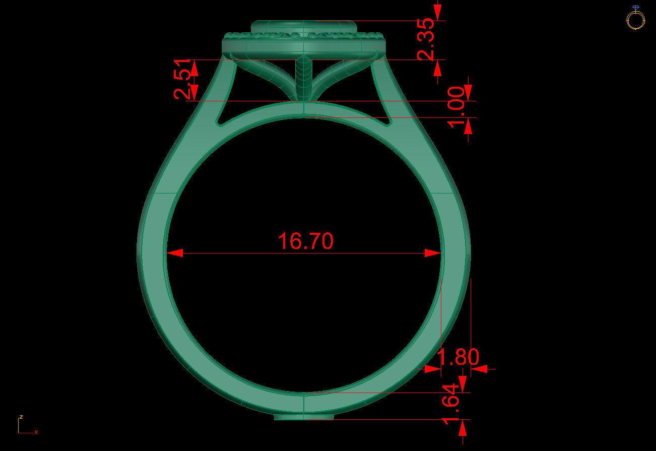 HALO RING | 3D Print Model