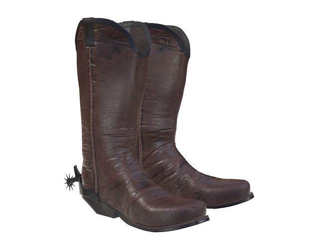 cowboy boots 2 3d model max obj mtl fbx mdl 1