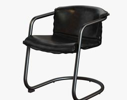 Slate Cantilever Chair 3D