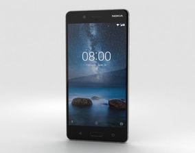 3D Nokia 8 Steel