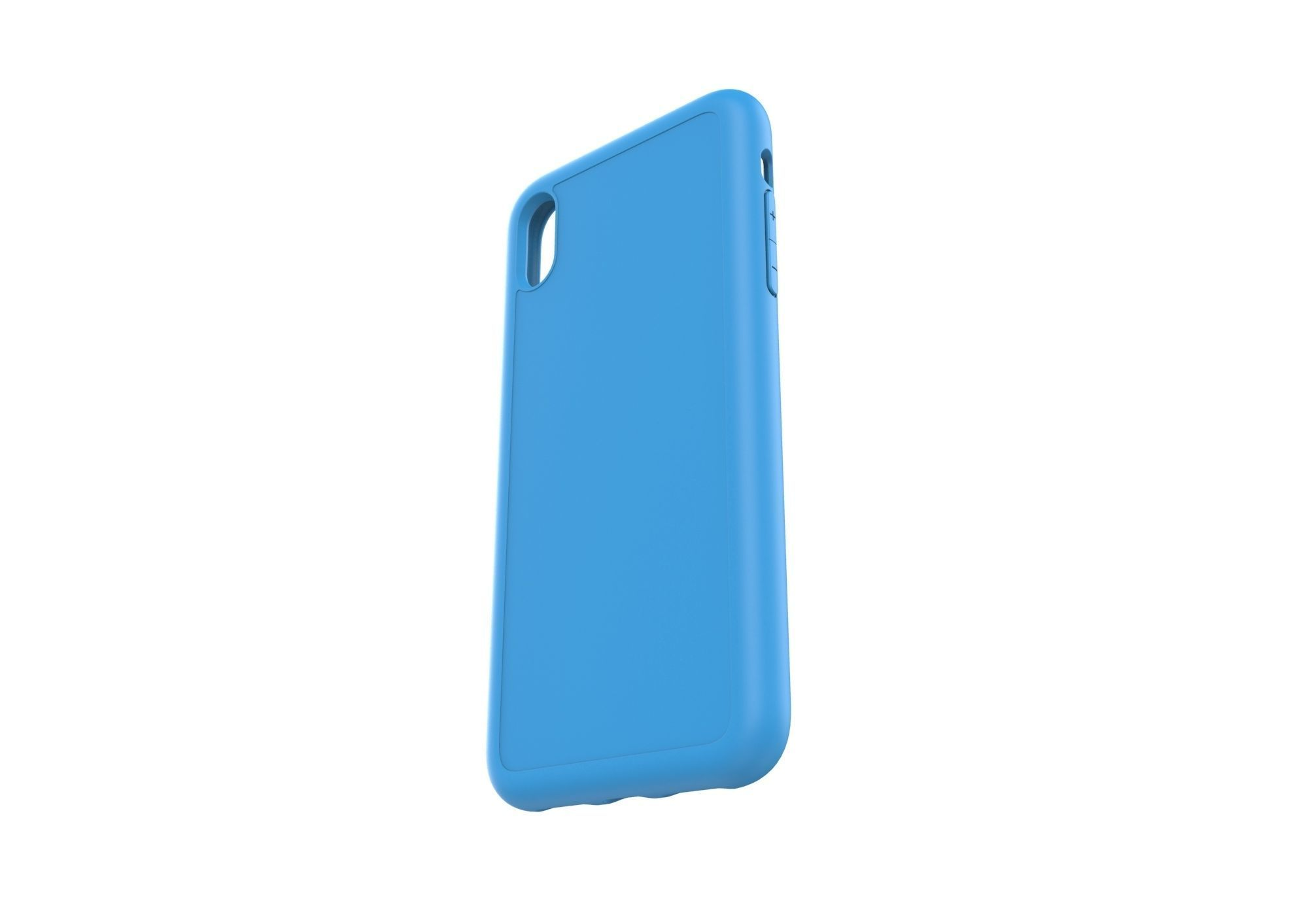 Iphone XS Max  blue case
