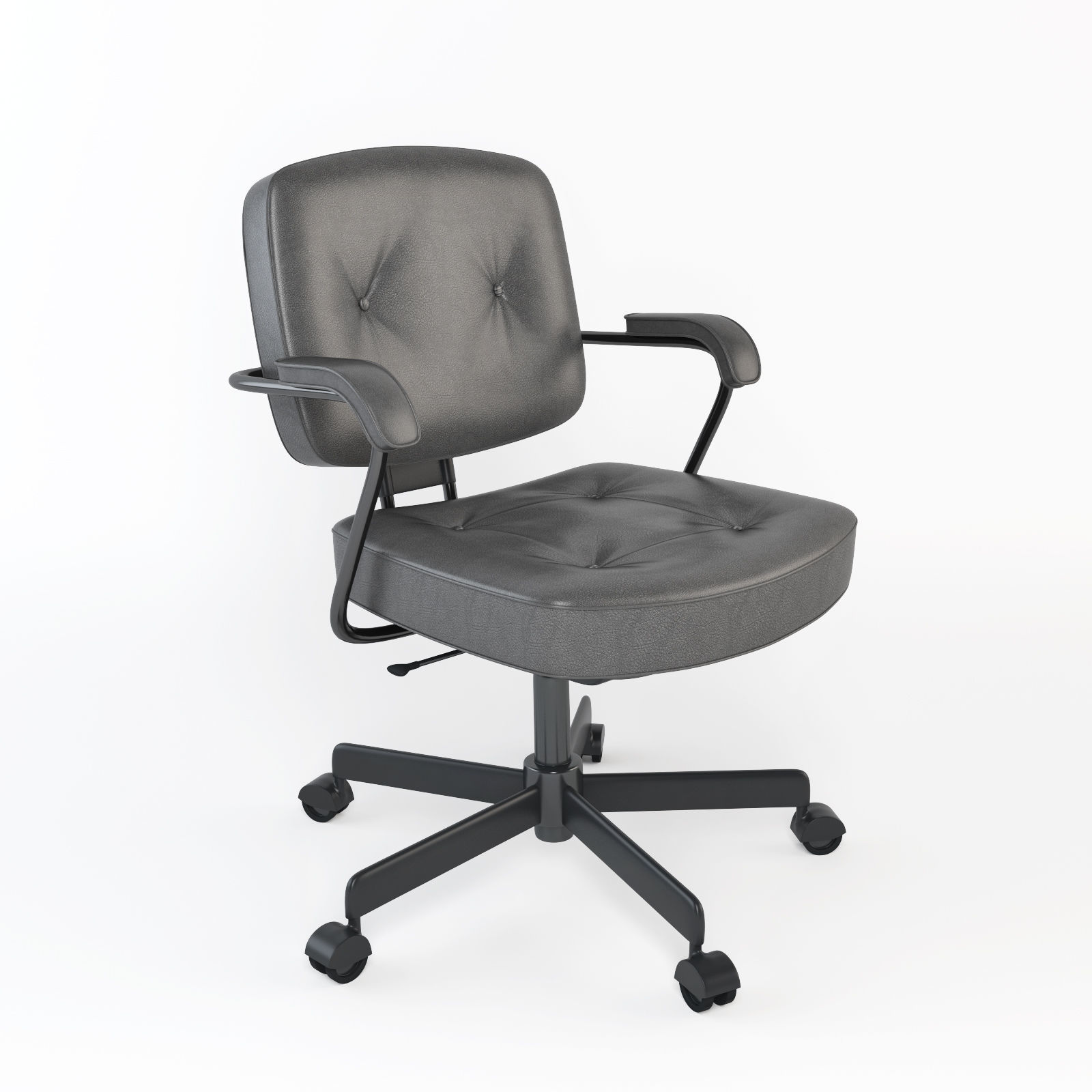 Charmant Office Chair Like Ikea Alefjall 3D Model
