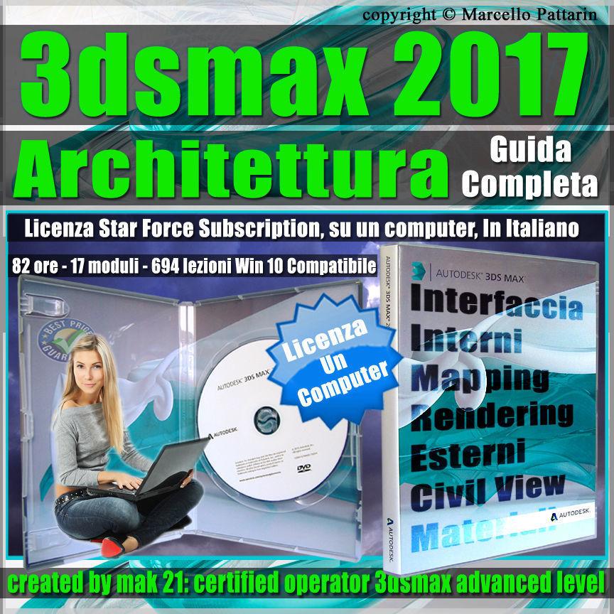 Corso 3ds max 2017 Architettura Guida Completa 1 Computer