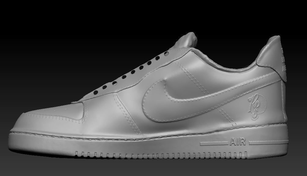 Nike Air Shoe Model for 3d printing