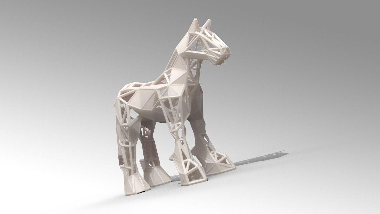Horse 3d Model 3d Printable Stl