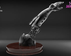 Realistic Robot Arm Timelapse and Model