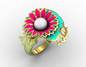 3D printable model Ring flover