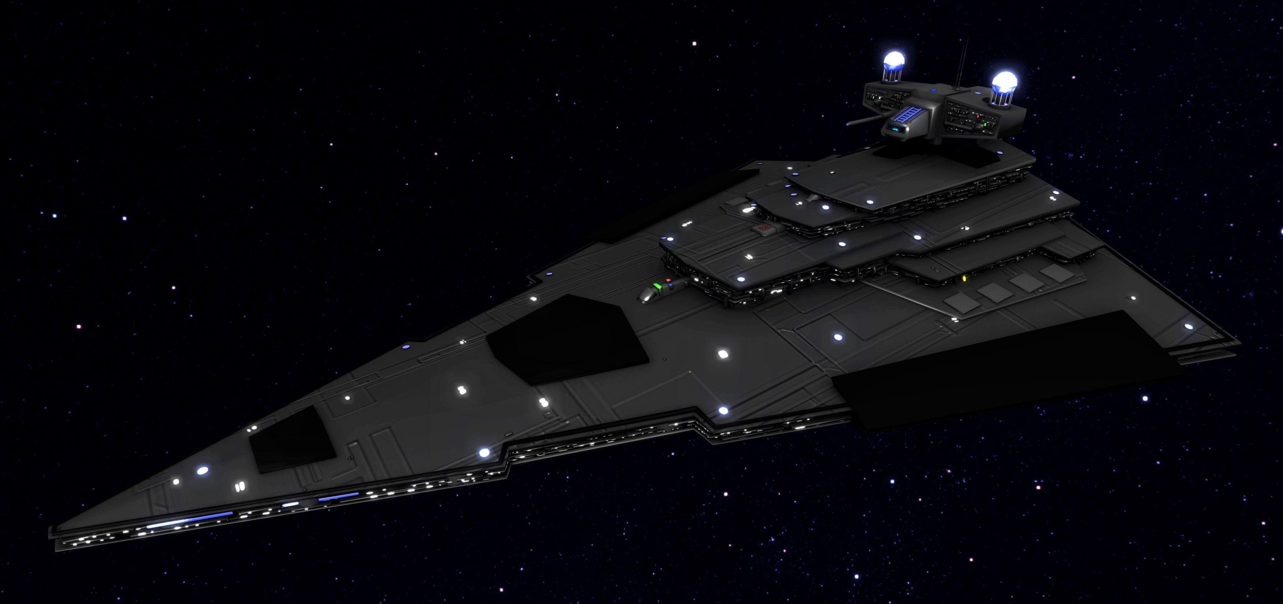 Star Wars - VSDI free 3D model OBJ MTL STL GLTF GLB