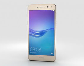 Huawei Y6 Gold 3D