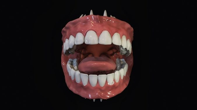 Teeth - Mouth for character