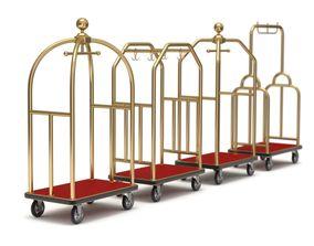 Hotel Cart Set 3D model